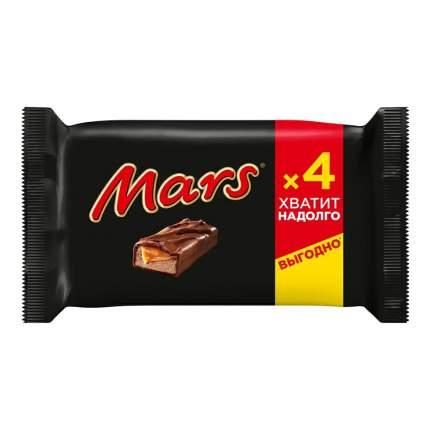 Шоколадный батончик Mars мультипак 4 шт х 40,5 г