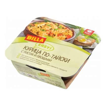 Курица по-тайски Billa Easy с рисом и овощами 250 г