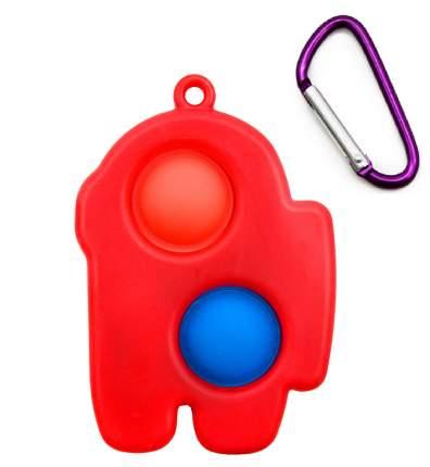 Антистресс брелок пупырка Симпл димпл Красный 121171-1