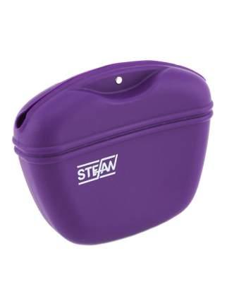 Сумочка для лакомств силиконовая STEFAN, фиолетовый, WF37714