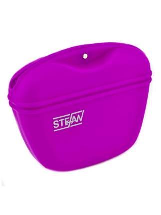 Сумочка для лакомств силиконовая STEFAN, пурпурный, WF37711