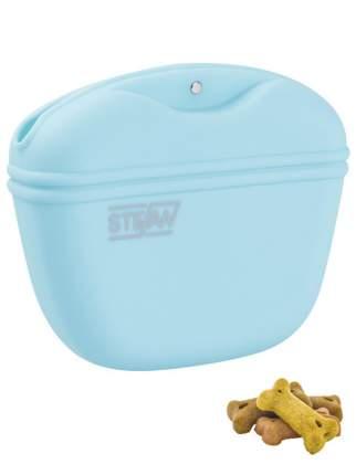 Сумочка для лакомств силиконовая STEFAN голубая, WF37708