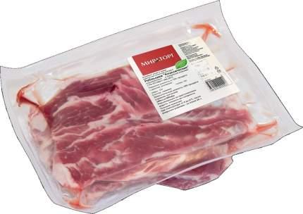 Ребрышки свиные Мираторг Классические охлажденные ~1,8 кг