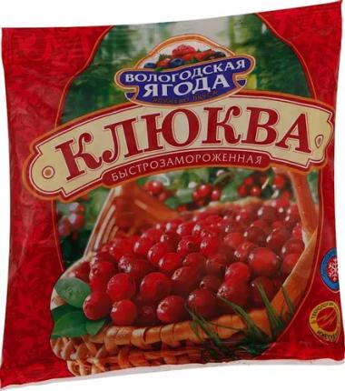 Клюква Кружево Вкуса быстрозамороженная 0,3 кг
