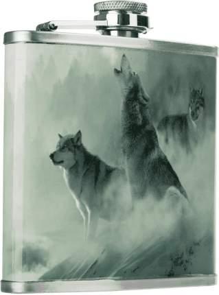 Фляжка Волки 210 мл Helios (HS-F-W-A19-1)