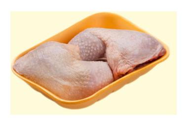 Окорочок цыпленка-бройлера Ясные Зори охлажденный ~800 г
