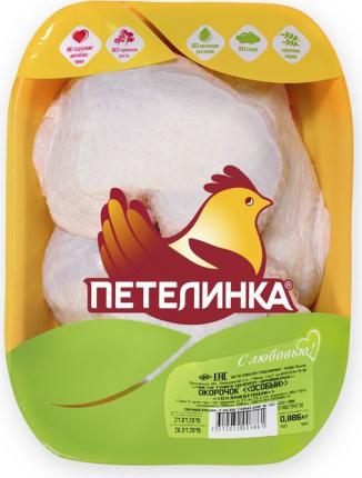 Окорочок цыпленка-бройлера Петелинка Особый охлажденный 6 кг