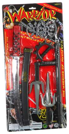 Игровой набор Ниндзя с Коротким Мечом и Сюрикенами Shenzhen Toys К30679