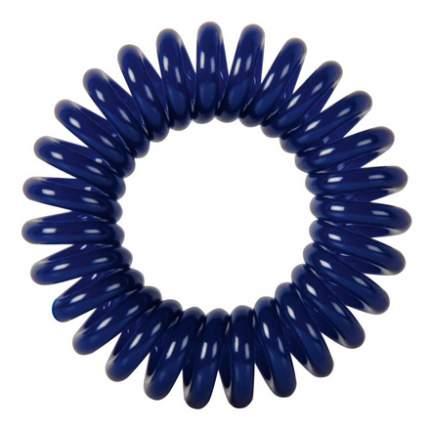 Резинки для волос Dewal Пружинка темно-синие, 3 шт