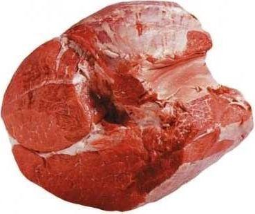 Оковалок говяжий без кости Липецкое мраморное мясо охлажденный ~1,5 кг