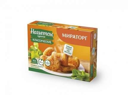 Наггетсы куриные Мираторг Классические замороженные 300 г
