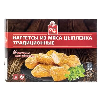 Наггетсы Fine Life Традиционные из мяса цыпленка 300 г