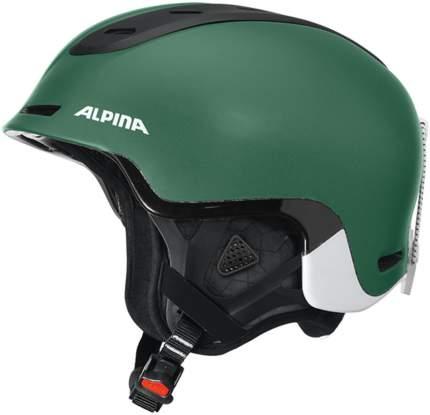 Горнолыжный шлем Alpina Spine 2019, pine-green matt, S/M