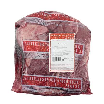 Лопатка говяжья без кости Липецкое мраморное мясо охлажденная ~1,4 кг
