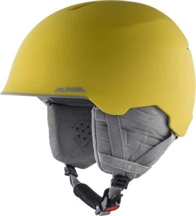 Горнолыжный шлем Alpina Maroi Jr 2021, curry/grey matt, XS/XXS