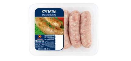 Купаты свиные Останкино Московские охлажденные 640 г