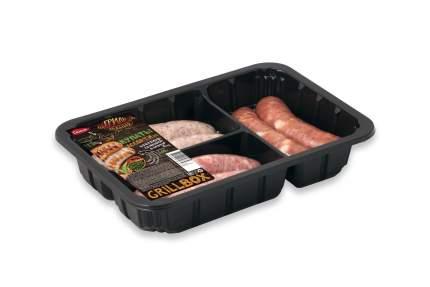 Купаты из говядины, свинины и курицы Самсон Грильмания Ассорти охлажденное 500 г
