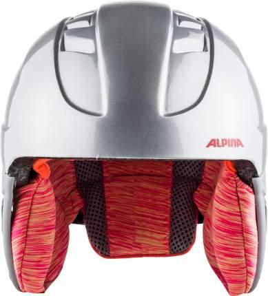 Горнолыжный шлем Alpina Carat 2021, silver/flam, S/XS