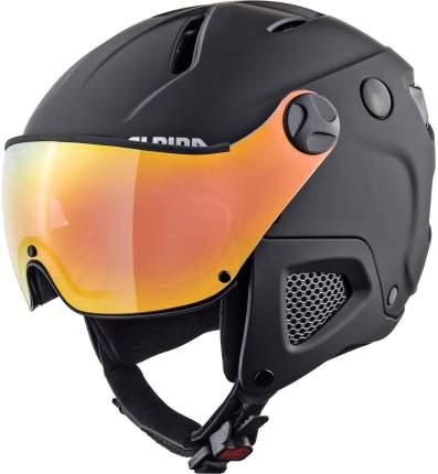 Горнолыжный шлем Alpina Attelas Qvm 2021, black matt, M/L