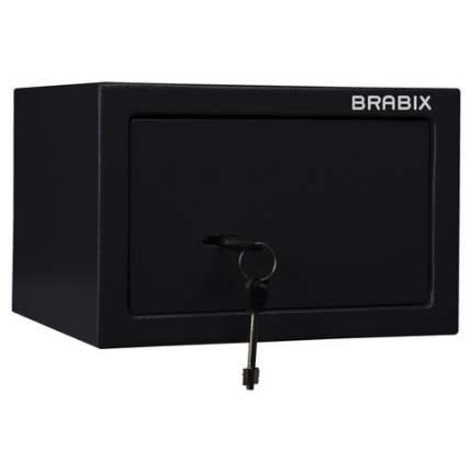 """Сейф офисный (мебельный) BRABIX """"SF-170KL"""", ключевой замок, 291142"""