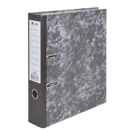 """Папка-регистратор """"Lite"""", формат А4, 75 мм, собранный, черный"""
