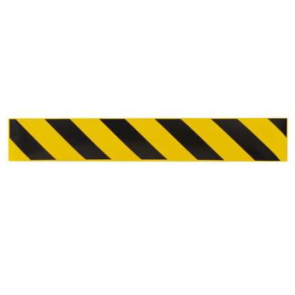 Полосы для напольной разметки ФОЛИАНТ КОМПЛЕКТ 6 шт., желто-черные, КП04