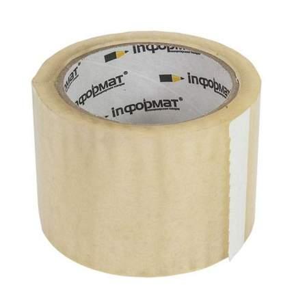 Лента упаковочная inФОРМАТ 72 мм х 57 м, 45 мкм прозрачная