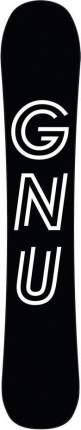Сноуборд Gnu Mullair 2021, black, 159 см