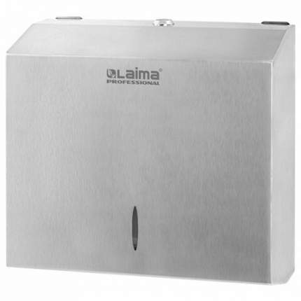 Диспенсер для полотенец LAIMA PROFESSIONAL INOX, (Система H3), V (ZZ), 605696