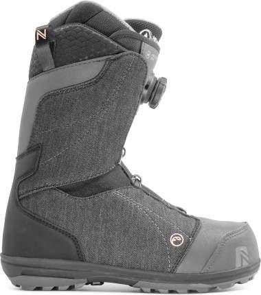 Ботинки для сноуборда Nidecker Maya Boa 2021, black, 23.5