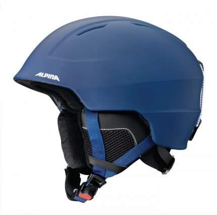 Горнолыжный шлем Alpina Chute 2021, night blue matt, M/L