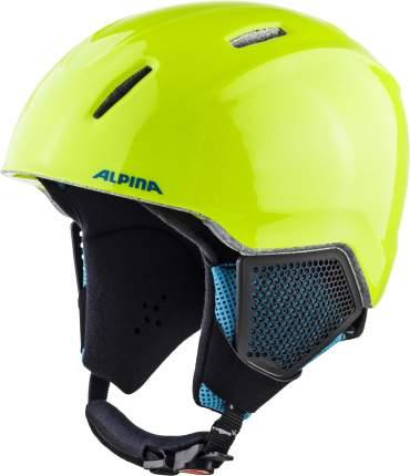 Горнолыжный шлем Alpina Carat Lx 2021, neon yellow, S