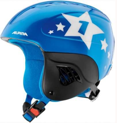 Горнолыжный шлем Alpina Carat 2021, carat blue/star, XS