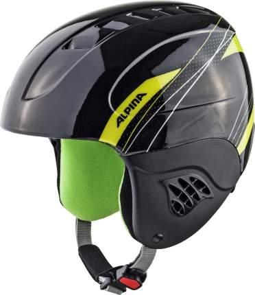 Горнолыжный шлем Alpina Junior Carat 2021, carat black/green, XS