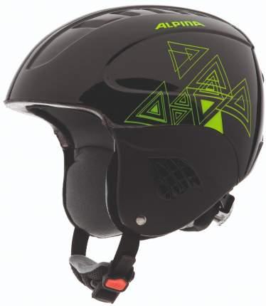 Горнолыжный шлем Alpina Junior Carat 2019, black-green, XS