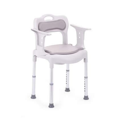 Кресло-туалет для инвалидов и пожилых людей с санитарным оснащением Армед H027B