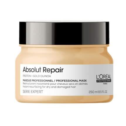 Маска L'Oreal Professionnel Absolut Repair Protein + Gold Quinoa, 250 мл