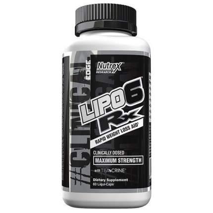 Жиросжигатель Nutrex Lipo-6 RX - 60 капсул
