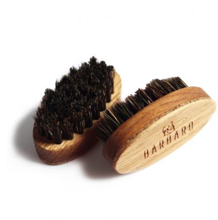 Щетка для бороды Barbaro Beard Brush овальная