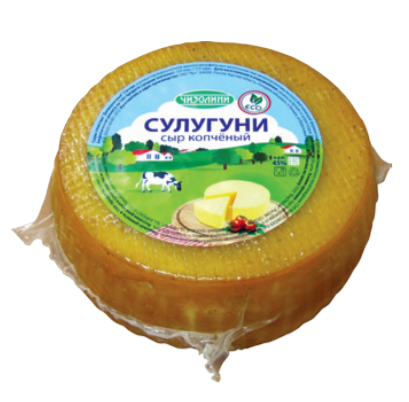 Сыр Чизолини Сулугуни копченый 45% бзмж 250 г