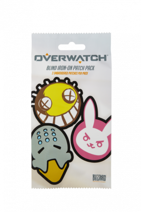 Термонаклейка Overwatch Character Iron on Patches