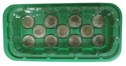 Парник с торфяными таблетками 11 ячеек (комплект) 24х12x5,0