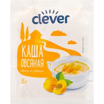 Каша Clever овсяная с абрикосом 40 г