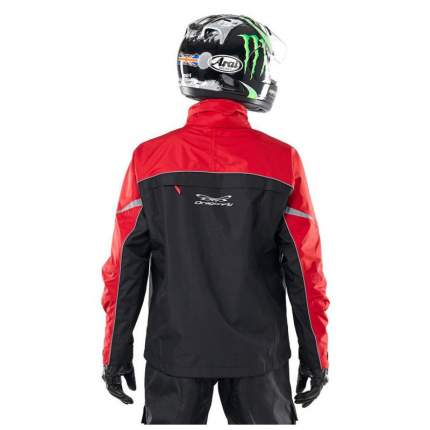 Куртка мембранная QUAD BLACK-RED 2018 (XXL )DRAGONFLY