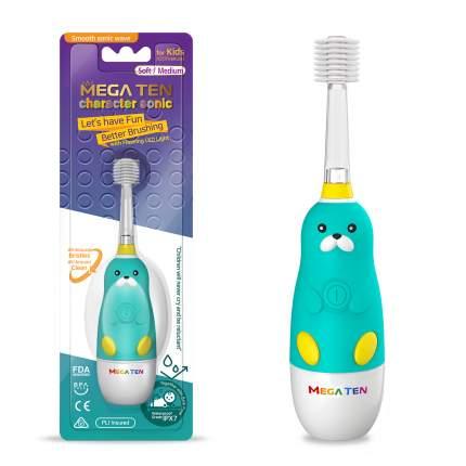 Электрическая зубная щетка Megaten Kids Sonic Моржик