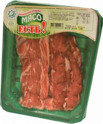 Корейка баранья без кости Мясо Есть! халяль охлажденная ~500 г