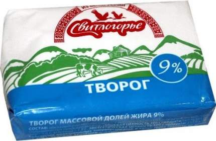 Творог мягкий Свитлогорье 9% 180 г