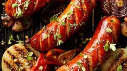 Колбаски для жарки Карамышев Помодоро охлажденные 230 г
