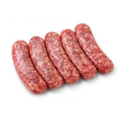 Колбаски говяжьи Прямо с фермы охлажденные 350 г