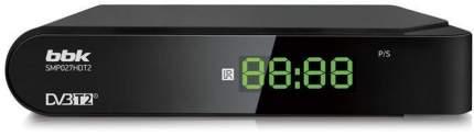 DVB-T2 приставка BBK SMP027HDT2 Black
